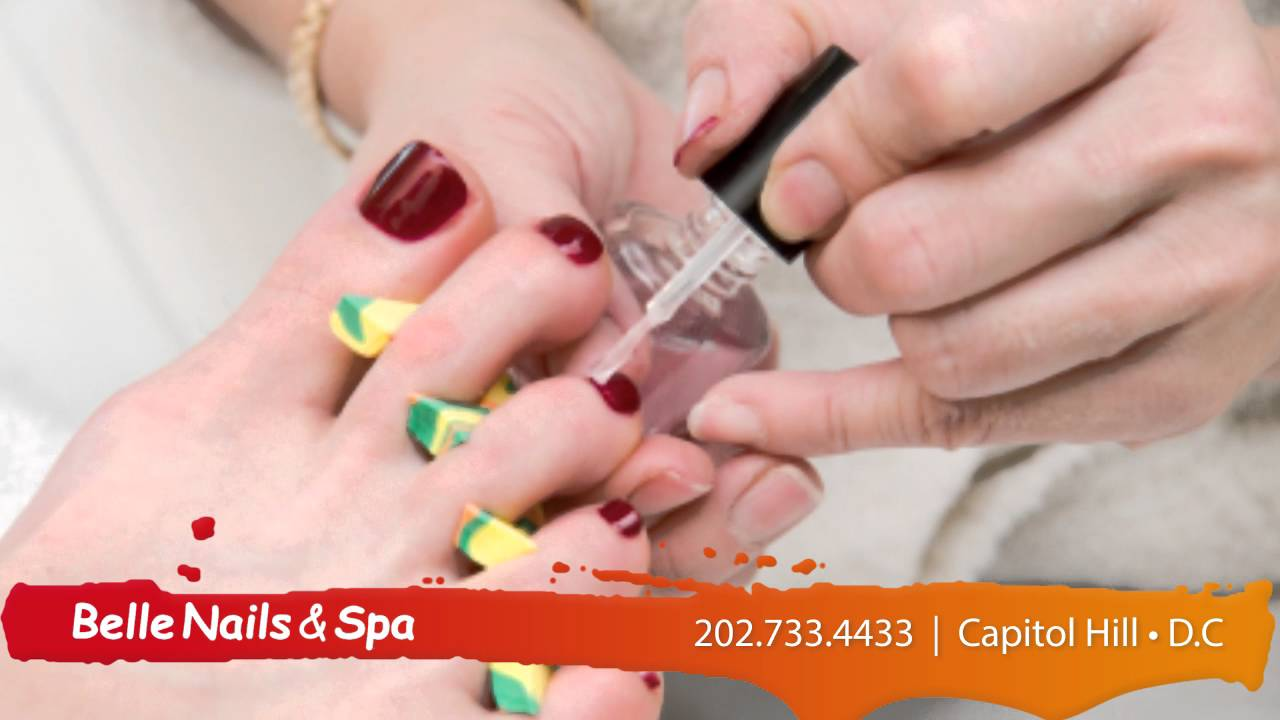 Belle Nails & Spa   Nail Care in Washington DC - YouTube