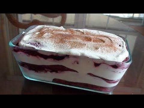 Vary Berry Tiramisu – Video Recipe – Italian Dessert Recipe by Bhavna
