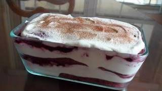 Vary Berry Tiramisu - Video Recipe - Italian Dessert Recipe By Bhavna