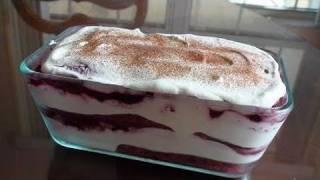 Vary Berry Tiramisu - Video Recipe - Italian Dessert Recipe