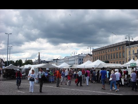 Market Square, Helsinki - Finland