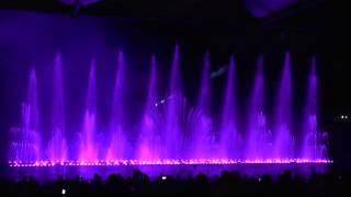КИПР . Шоу танцующих фонтанов
