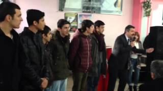Merzifon CHP Belediye başkan adayı Alp Kargı nın Kayadüzü - Merzifon Kayadüzü nde yapımı düşünülen TERMİK SANTRAL protesto etkinliğinden.