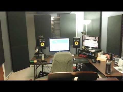 Professional Home Recording Studio Tour, Advice, Tips, and T