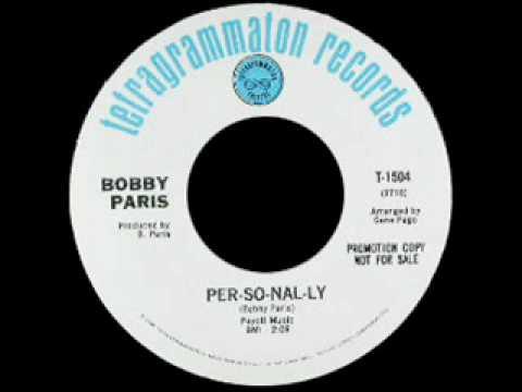 Bobby Paris - Per-So-Nal-Ly