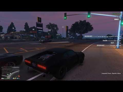 GTA V - Test Velocidad del Lampadati Viseris [Tunning]. 200 mph !!!