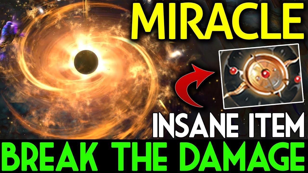 New Item Aeon Disk Engima by Miracle- Dota 2 7.07