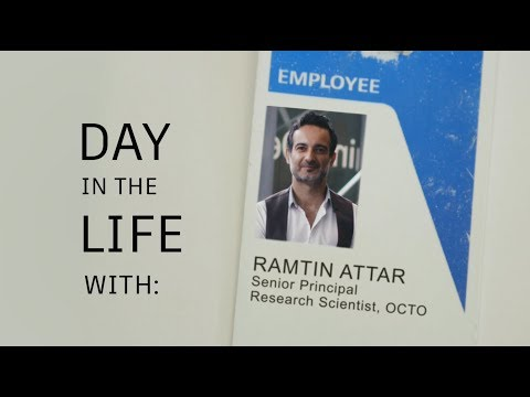 Day In The Life With Autodesk's Ramtin Attar