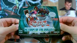 Best Yugioh 2012 Return Of The Duelist 1st Edition Booster Box Opening Ever