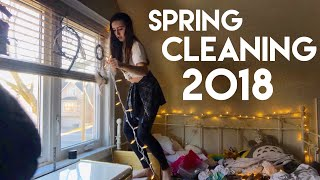 CLEANING MY ROOM FOR SPRING! SATISFYING TIME LAPSE! 🌸