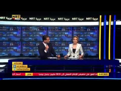 مذيعة عربية تُفاجئ زميلها وتستقيل مباشرة على الهواء فهذا كان رد فعله