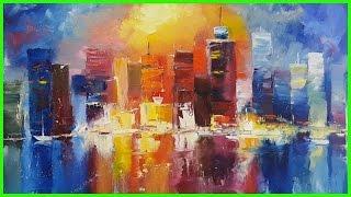 Мастер-Класс по живописи маслом Городской пейзаж +79818457723