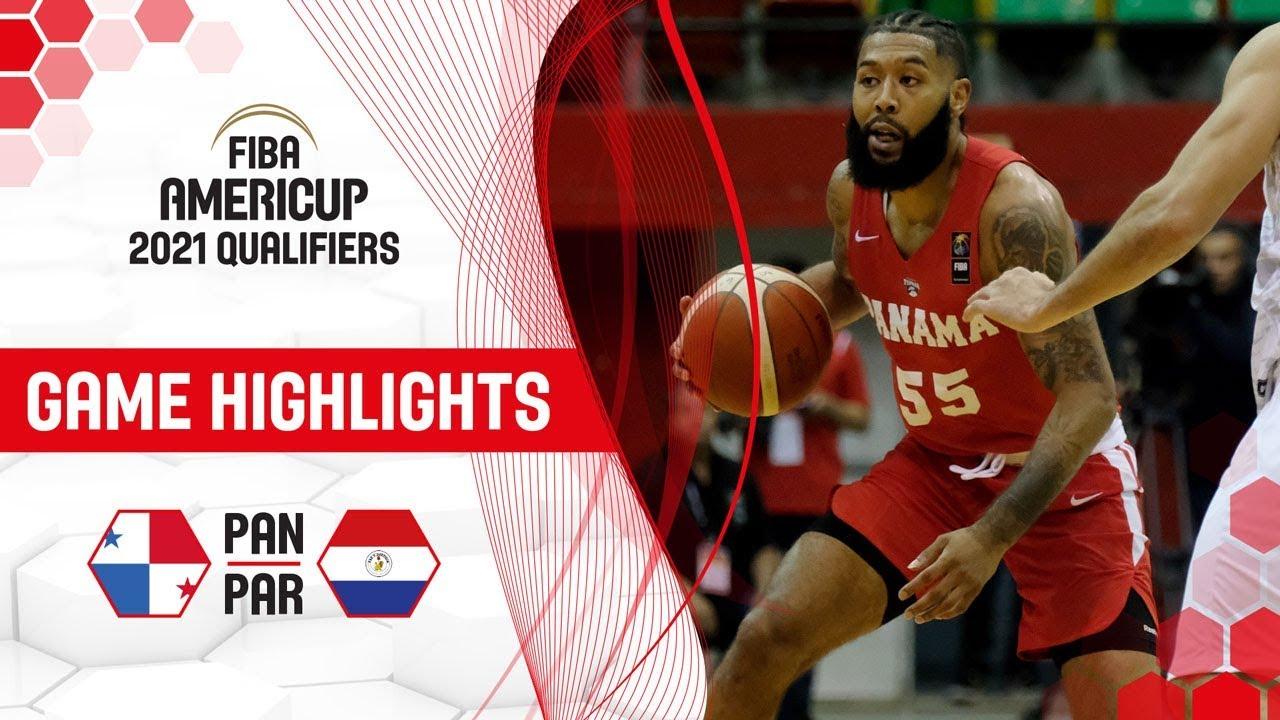 Panama v Paraguay - Highlights - FIBA AmeriCup 2021 - Qualifiers