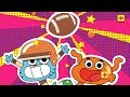 The Amazing World of Gumball - Go Long! [Cartoon Network Games]