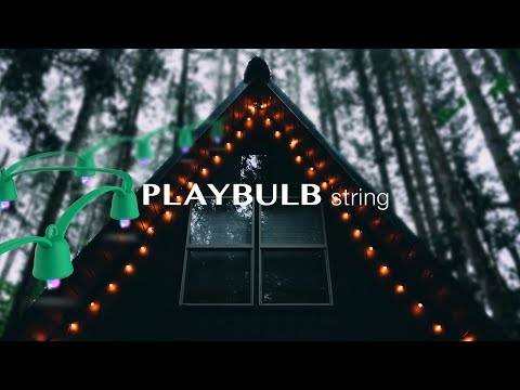 MIPOW - Playbulb String - The Best Outdoor Holiday Lights