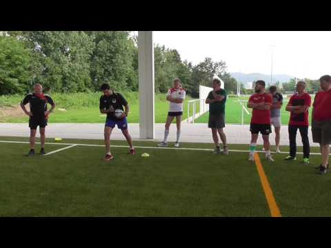 Evasion & Offload Coaching course Session Part 1 with David Manuel, Blue Bulls