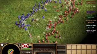 100 Musketeers VS 100 Sepoy | Age Of Empires 3 | Who Will Win? #1