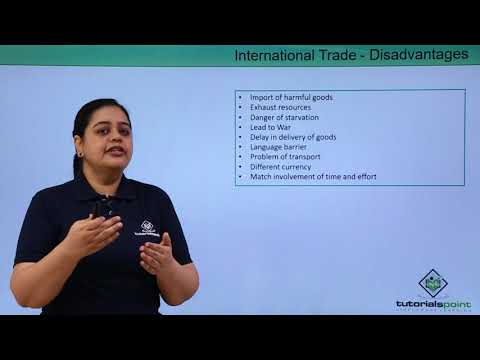 International Trade – Advantages & Disadvantages
