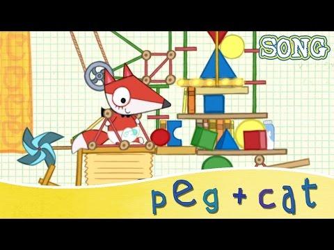 Peg + Cat - Baby Fox's Big Machine (Song)