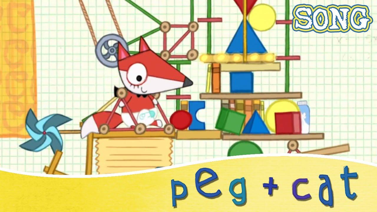 Peg Cat Baby Fox S Big Machine Song Youtube