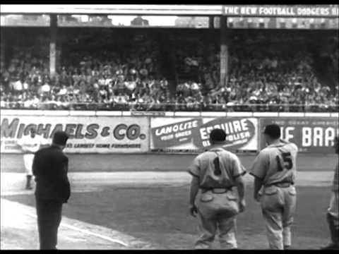 Cardinals Defeat Dodgers in NL Playoff (1946)