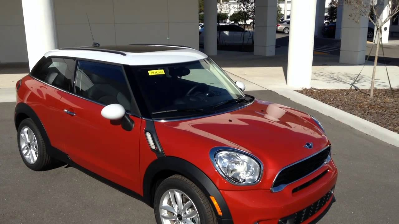 new 2014 mini cooper s paceman for sale in tampa bay florida call for price specs review. Black Bedroom Furniture Sets. Home Design Ideas