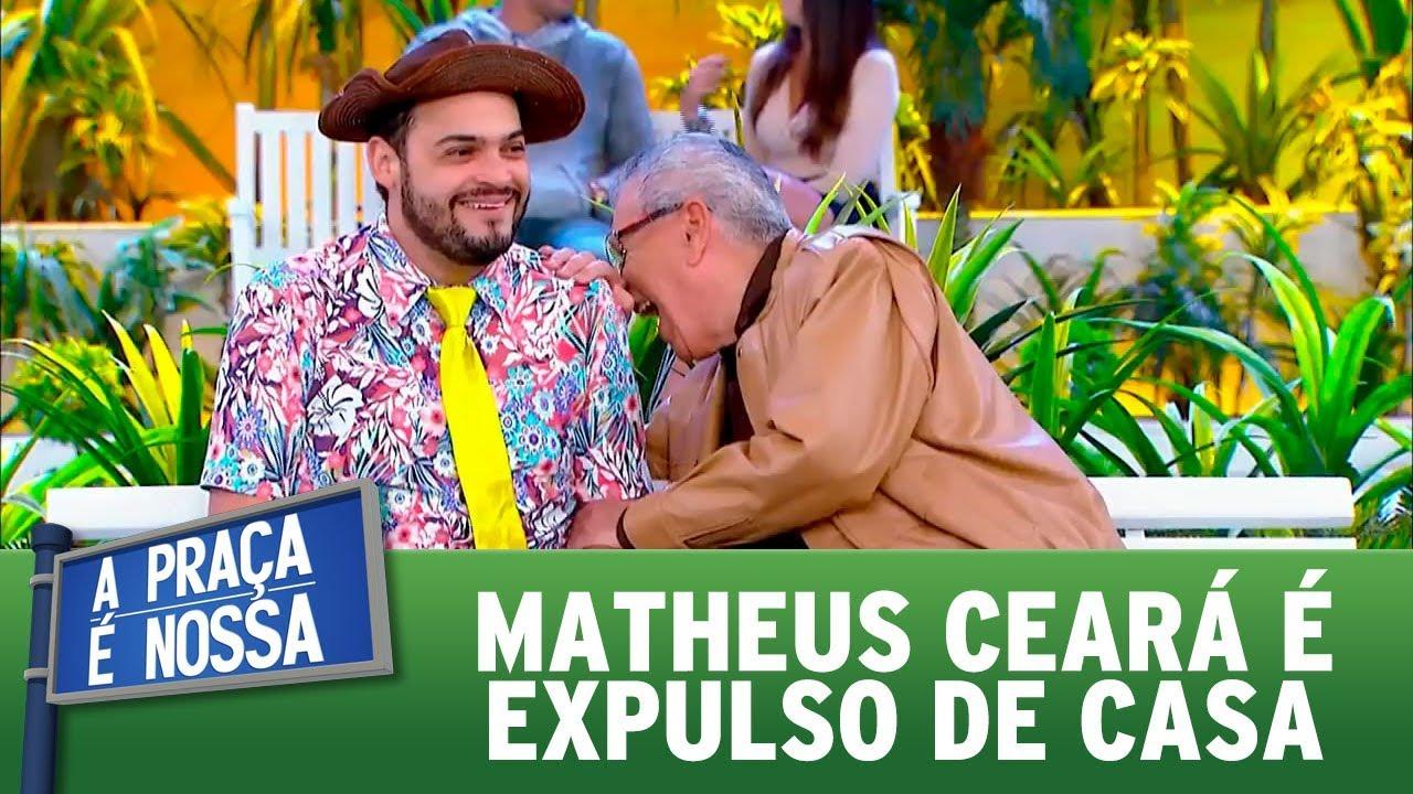 Matheus Ceará é expulso de casa | A Praça é Nossa (24/08/17)