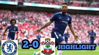 Chelsea vs Southamton 2-0 Hasil Semi Final Piala FA Tadi Malam 22-4-2018.