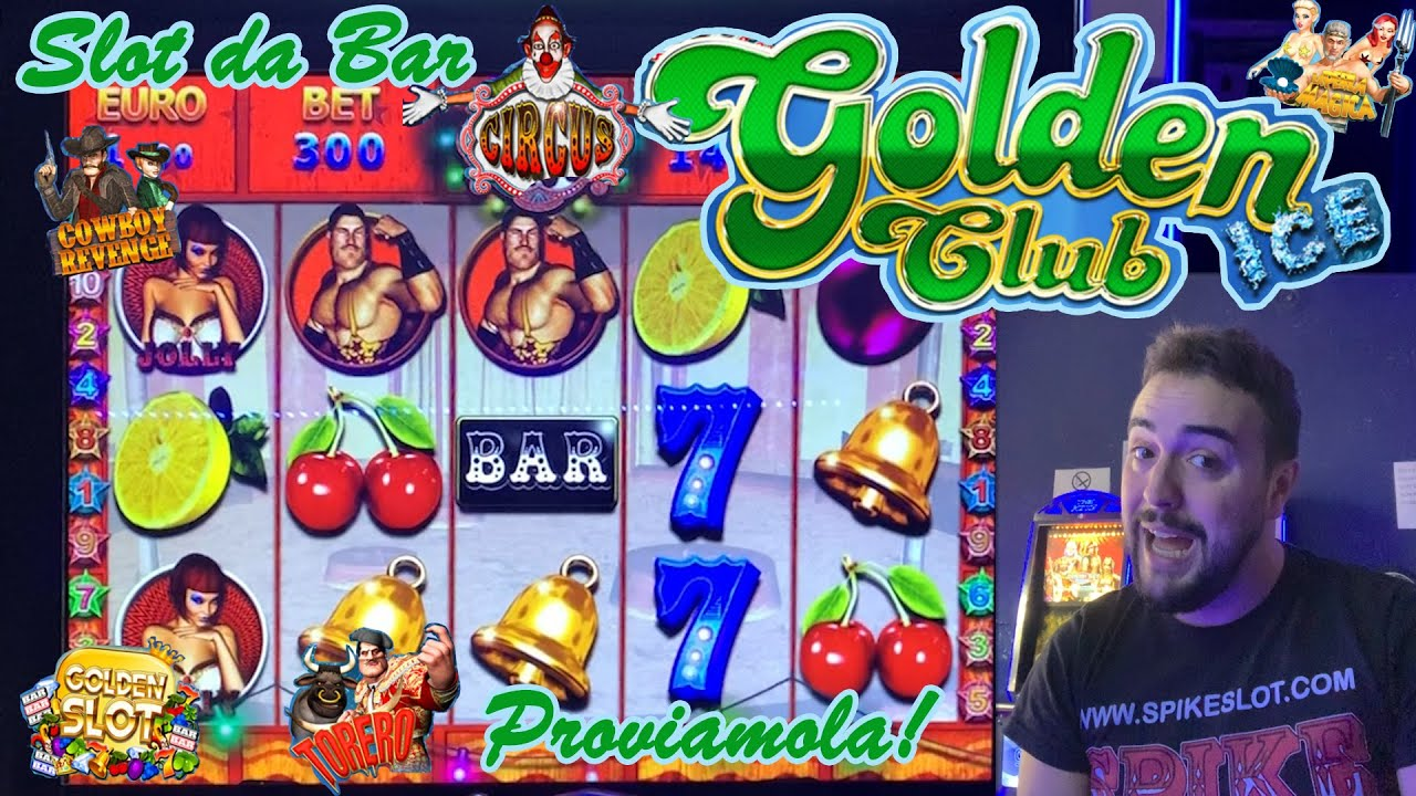 SLOT MACHINE da BAR - Proviamo la GOLDEN CLUB ICE❄️???? (Multigioco Vital Games con CIRCUS???? e alt