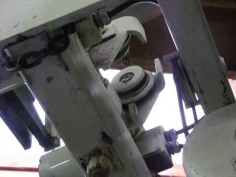 *SOLD* Coffing 3 Ton Electric Overhead Bridge Crane Hoist with Motorized Trolley