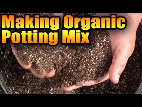 Making Organic Potting Mix