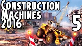 Construction Machines Simulator 2016 Gameplay Part 5 - Forklift