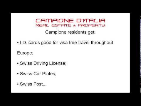 Campione D'Italia Real Estate - Apartment Deal For Residency