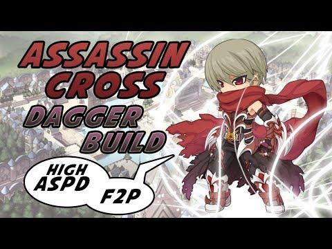 Ragnarok M Eternal Love: Build Assassin Cross Tipe Dagger yang Mematikan!!