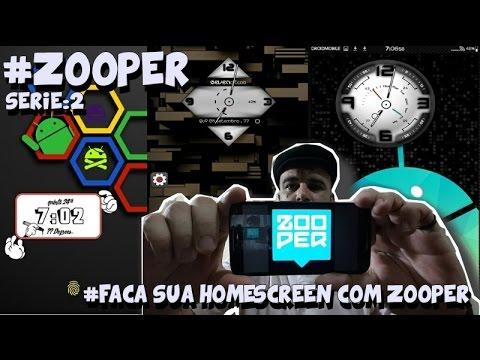 ZOOPER (Faça sua Homescreen com Zooper)