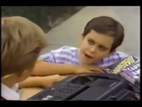 Panasonic Commercial with a young Whit Hertford 1989 windowboxed