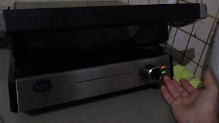 Быстрое приготовление перца на гриле Kitfort 1602