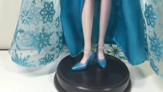How to Make Elsa Doll Ice Shoes Simple Tutorial / Repaint - Disney Frozen