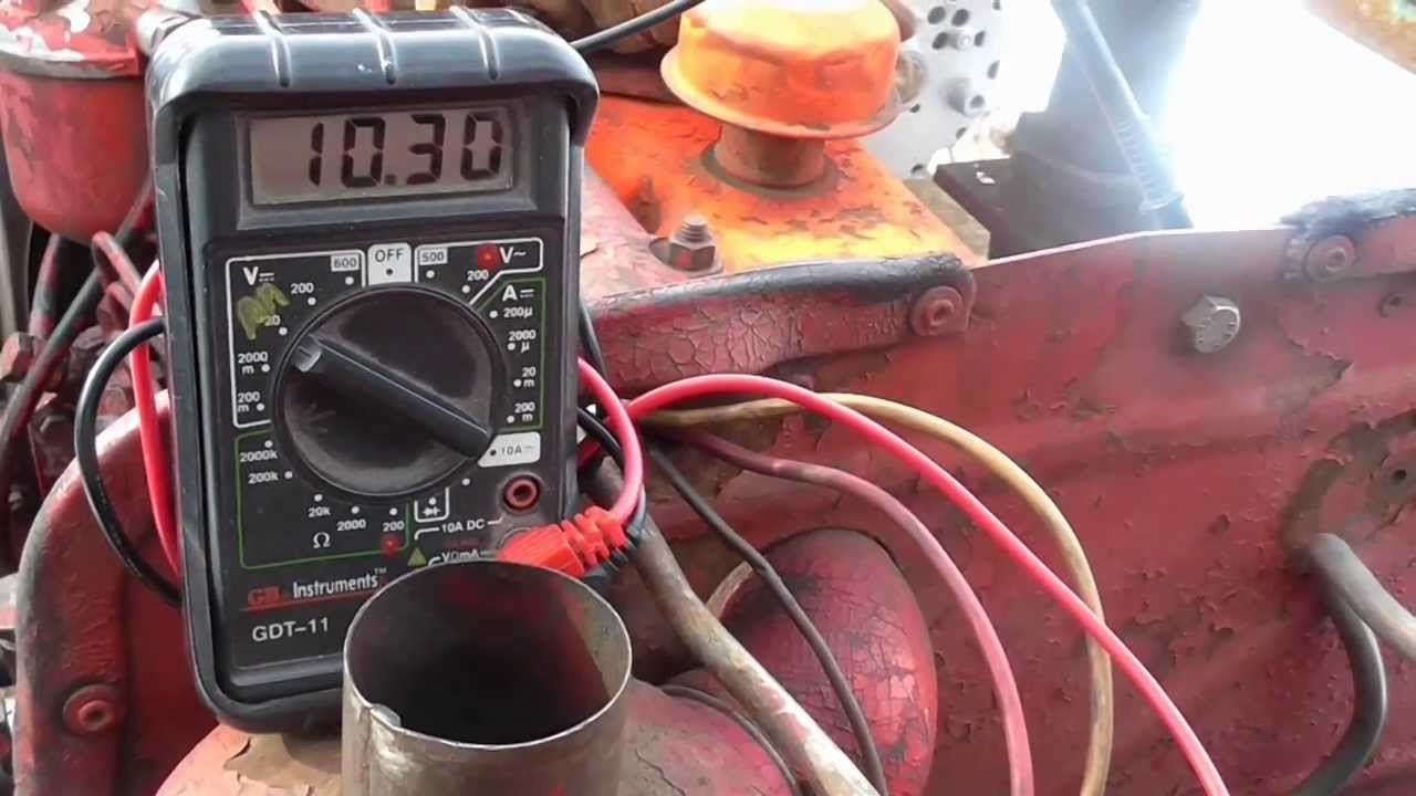 Cold Start International B 275 With Old Battery And New One Youtube B275 Wiring Diagram