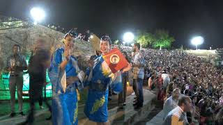 2019 Carthage international festival in Tunisia awadance kikusuiren