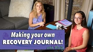 Creating your own recovery journal with Molly! #katikrafts