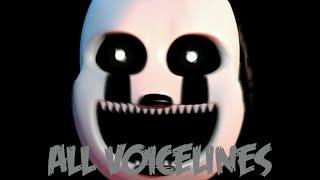 Nightmarionne | All Voicelines with Subtitles | Ultimate Custom Night