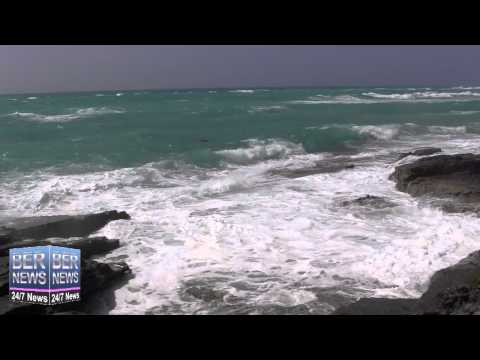 Hurricane Cristobal Approaches Bermuda, August 27 2014
