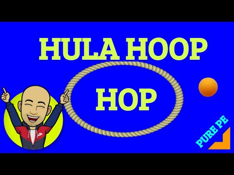 Hula Hoop Hop - PE at Home