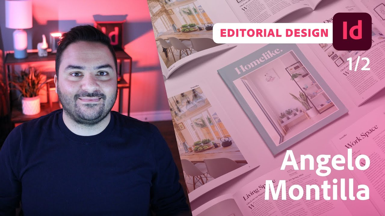 Designing an Interactive Lifestyle Magazine with Angelo Montilla - 1 of 2
