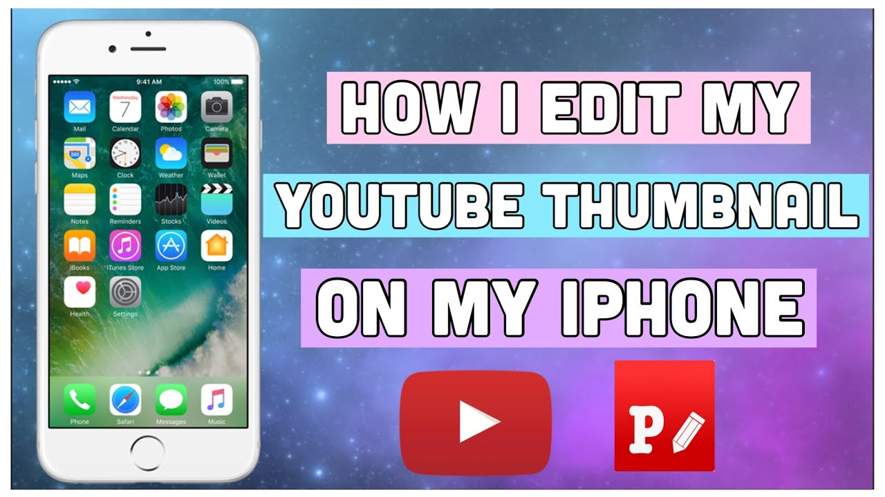 HOW I EDIT MY THUMBNAIL ON MY iPHONE 2019 USING PHONTO APP ( TAGALOG ) - YouTube