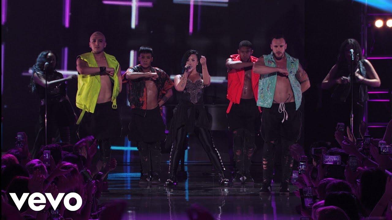 Download Demi Lovato - Neon Lights (Vevo Certified SuperFanFest)