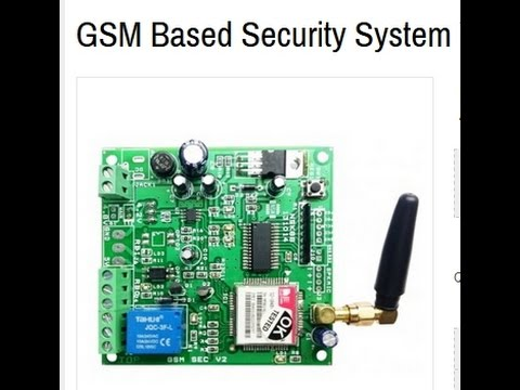 gsm based home security system Security is one of the main concern of the present day security not only from the rising crime but also from the day to day accidents in this present world of technological advancement proper .