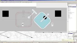 Как нарисовать мойку из камня KitchenDraw 5.0