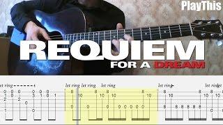 Реквием по мечте | Разбор на гитаре (Requiem for a Dream) + ТАБУЛАТУРА | Уроки гитары от PlayThis#18